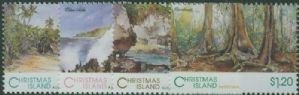 CHI SG378-81 Scenic Views of Christmas Island set of 4